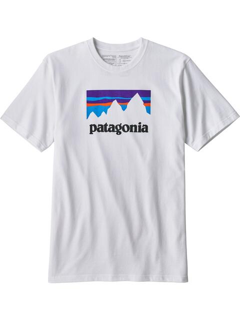 Patagonia M's Shop Sticker Responsibili-Tee White